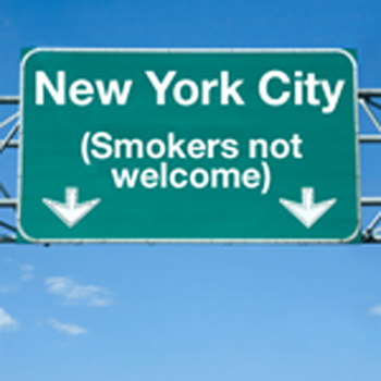 No Smoking in NY !