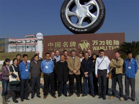 Chine et constructeurs de pneus, photo forum auto.com